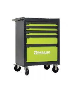 Carrello porta attrezzi completo Fasano FG BEST125 con ruote
