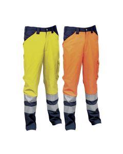 Pantalones de trabajo de alta visibilidad Cofra Twinkle