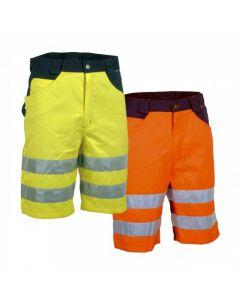 Cofra Pantalones cortos de alta visibilidad