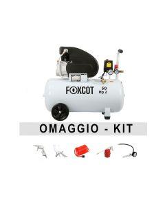 Compresor de aire 50 litros Foxcot FL50