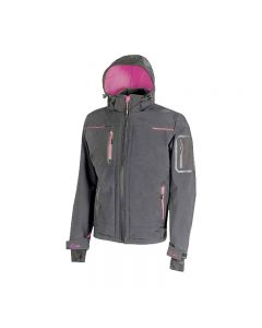 Chaqueta de trabajo softshell para mujer U-Power Space Lady