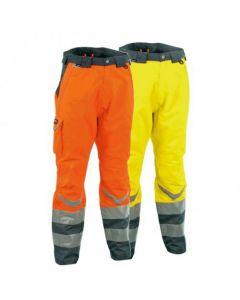Pantalones de trabajo de alta visibilidad Cofra Safe