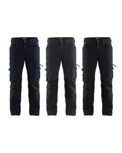Pantalones de trabajo Blaklader 1989 Craftsman Stretch 4 vie X1900