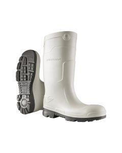 Dunlop CF11441 S4 CI SRC white work boots in polyurethane