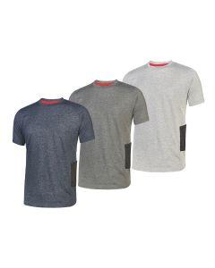 T-shirt de trabajo U Power Road slim-fit