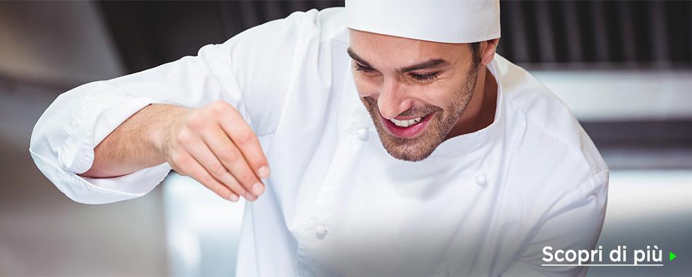 Abbigliamento da cuoco