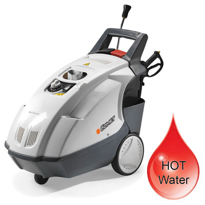 Hot water high pressure washers