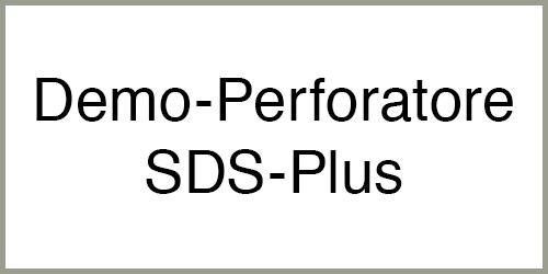 Demolitore-Perforatore SDS Plus