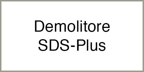 Demolitore SDS Plus
