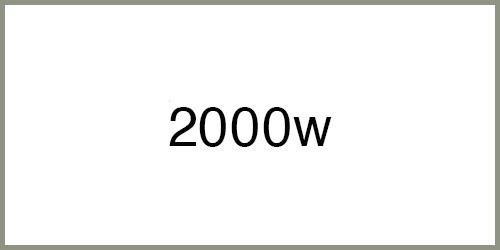 Groupe électrogène 2000w