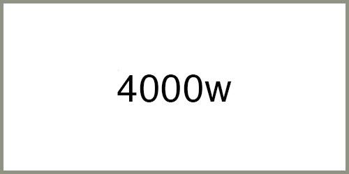 Groupe électrogène 4000w