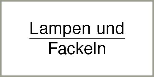 Lampen/Fackeln