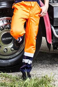 Pantalons de travail à haute visibilité